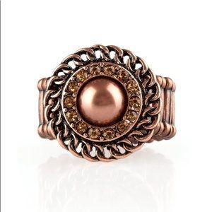 Copper stretch ring